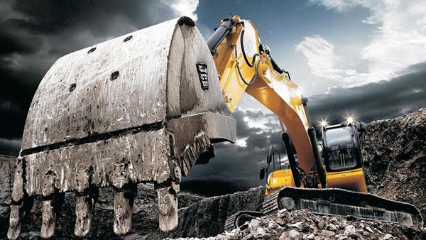 Locação de escavadeiras e retroescavadeiras